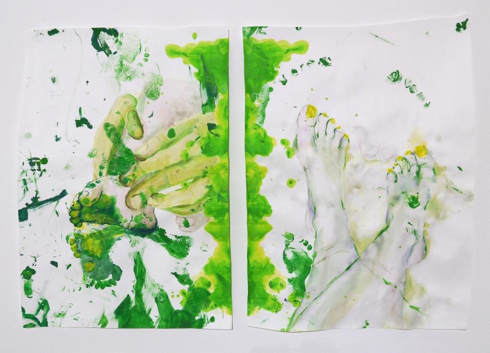 teef gnitniap | feet painting